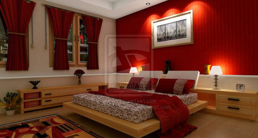 Red Bedrooms Bedroom Real Estate