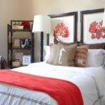 Red Black Grey Bedroom Ideas Coral Turquoise