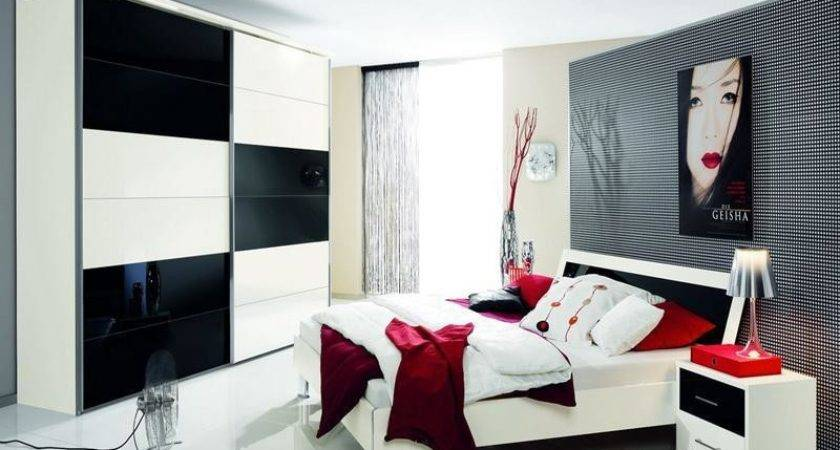 Red Black White Bedroom Decorations Nrtradiant