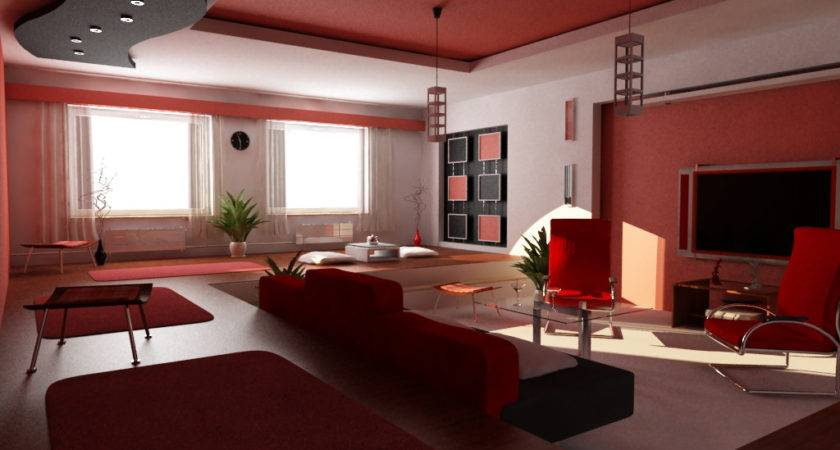 Red Black White Room Ideas Photos Objects