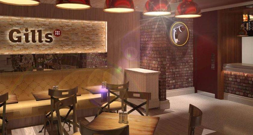 Red Ceiling Wooden Furniture Ideas Using Brick Wall