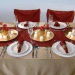 Red Christmas Tablecloth Car Interior Design