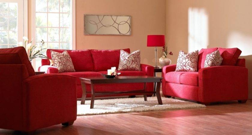 Red Couch Living Room Fabulous