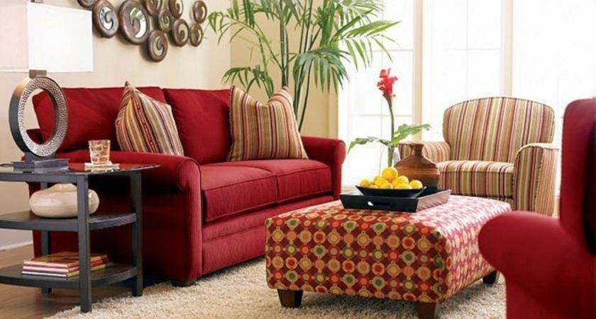 Red Couches Small Living Rooms Homedcin