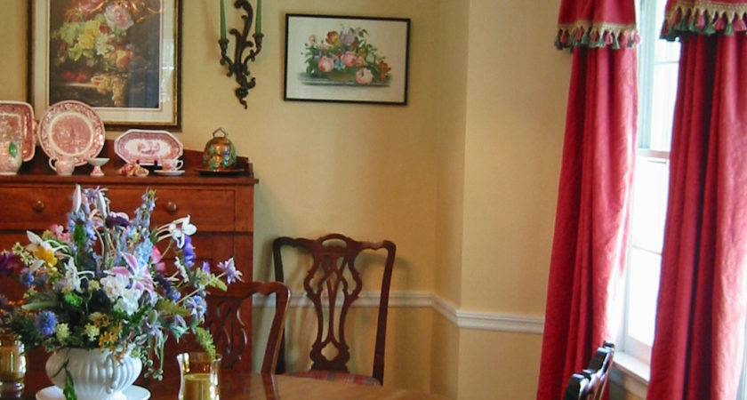 Red Dining Room Curtains Alliancemv