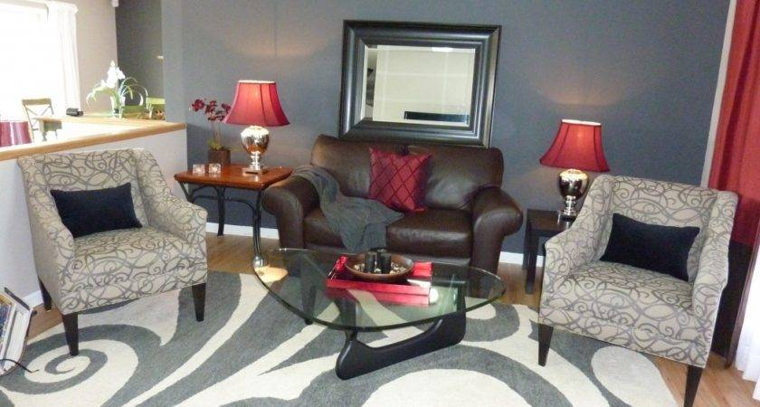 captivating red grey living room ideas | Red Gray Living Room Ideas Dgmagnets - Designs Chaos