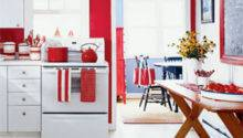 Red Kitchen Decorating Ideas Home Interior Design