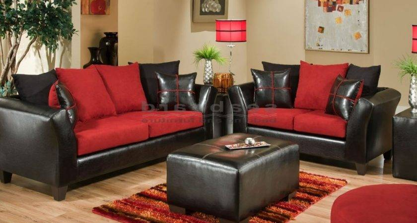 Red Living Room Set Favourite