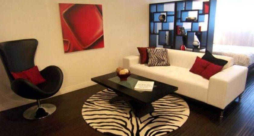 Red Living Room Table