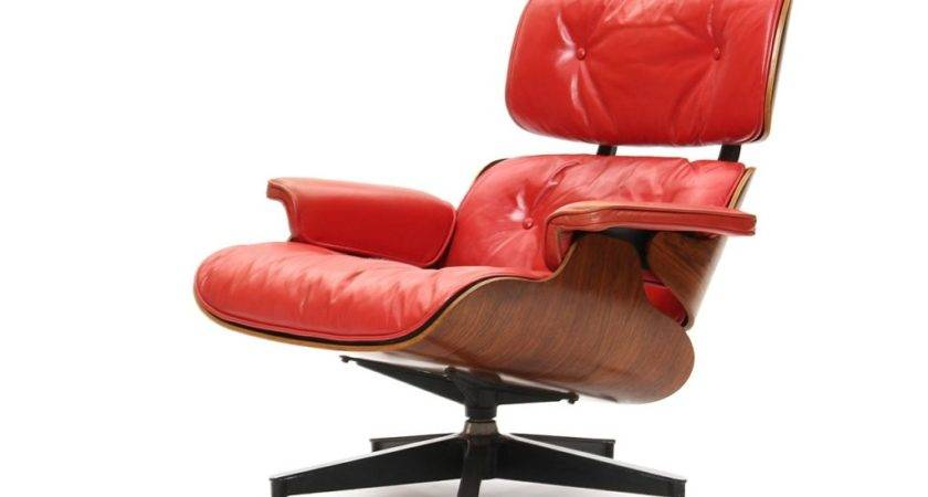 Red Lounge Chair Charles Ray Eames Stdibs