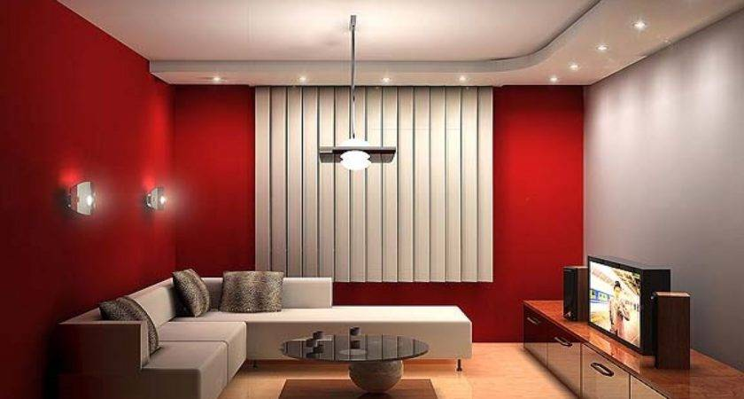 Red Room Design Ideas Choosing Paint Color Living