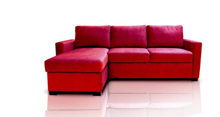 Red Sofa Bed Glasgow West End