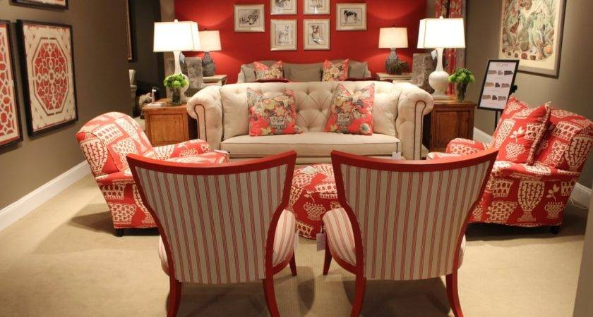 Red Taupe Living Room Paint Ideas Popsugar Home