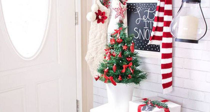 Red White Christmas Lights Ideas