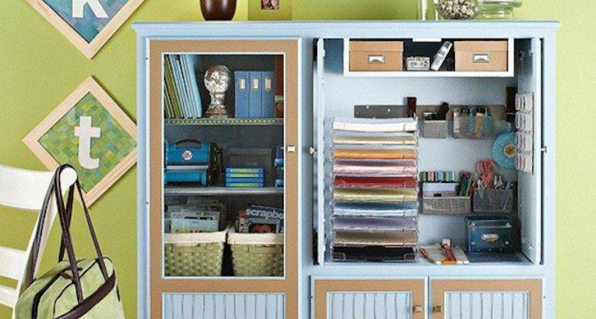Reinvented Uses Old Entertainment Centers