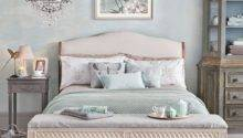 Relaxing Pale Jade Green Bedroom Decorating