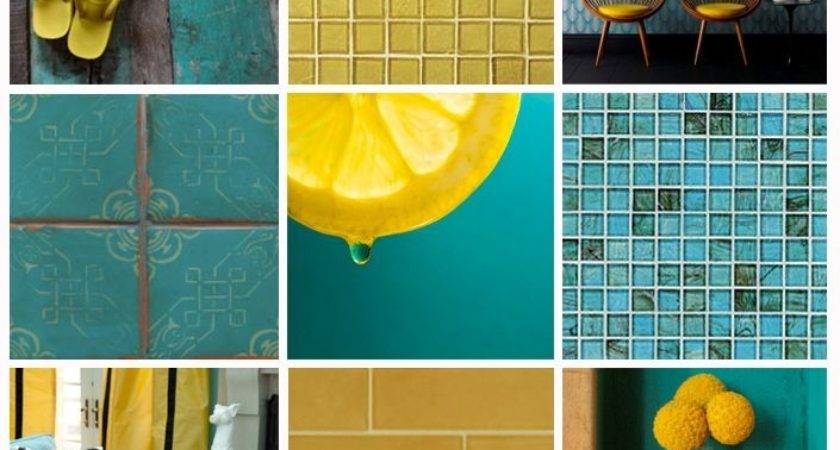 Remarkable Yellow Turquoise Room Photos Best