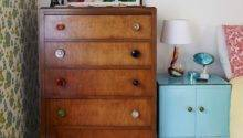 Retro Bedroom Upcycled Furniture Small