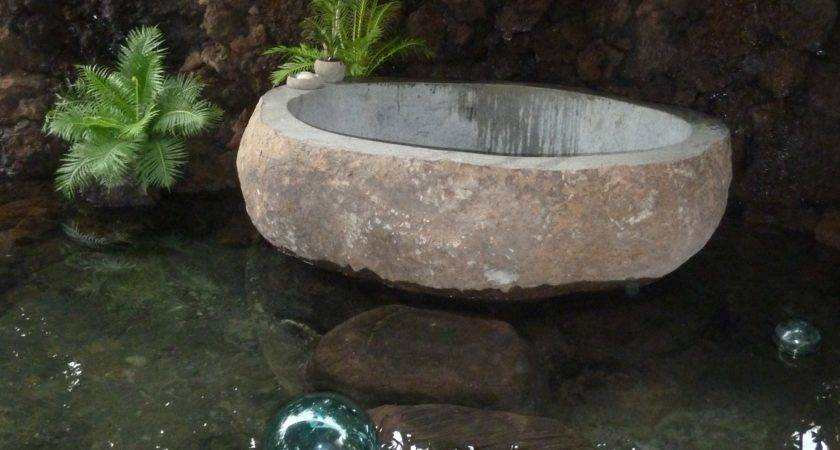 River Rock Stone Soaking Tubs Jeanne Marie Imports