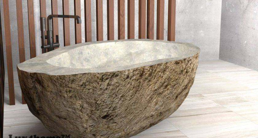 River Stone Bathtub Manufacturer Lux Home