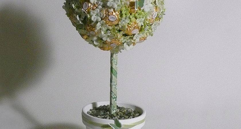 Rocher Candy Topiary Fun Whimsical Alternative