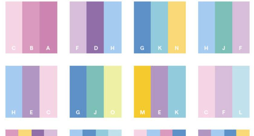 Romantic Color Schemes Combinations Palettes