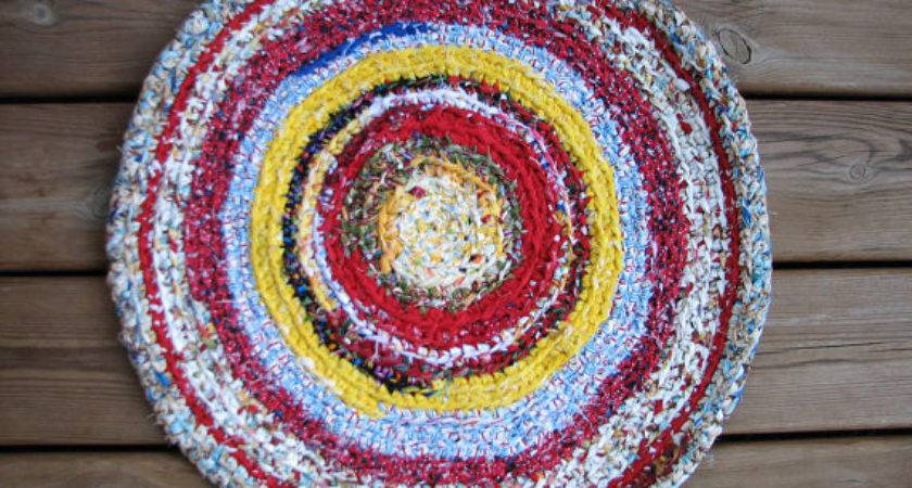 Round Braided Rug Primary Colors Positivelybiased