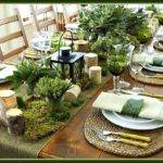 Rustic Christmas Tablesetting