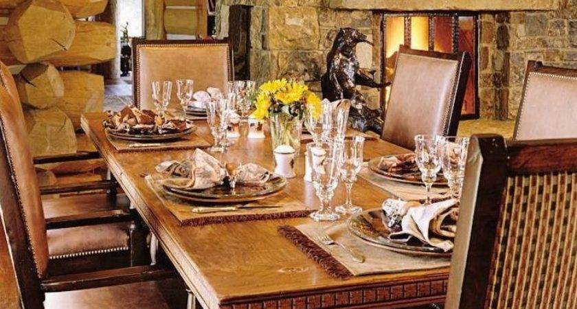 Rustic Dining Room Tommy Thalia Mottola