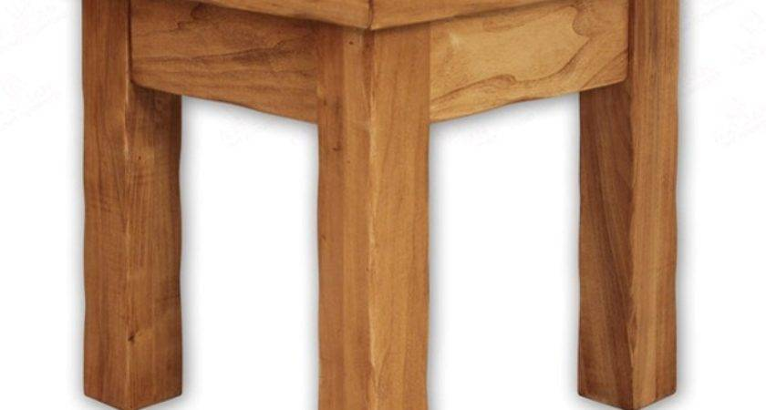 Rustic Lodge Cottonwood Alder End Table Reclaimed