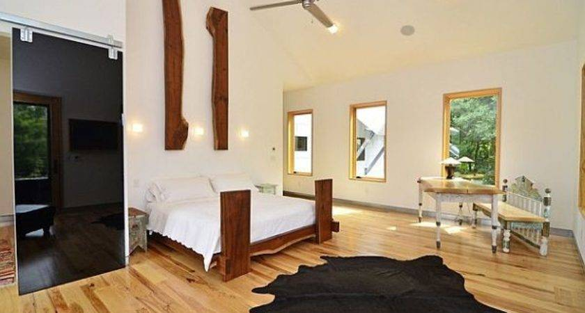 Rustic Modern Wooden Bed Frames Stylish Bedroom