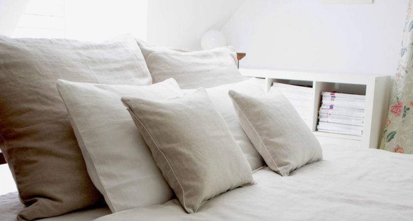 Sale Linen Bedding Natural Queen Moodsstore