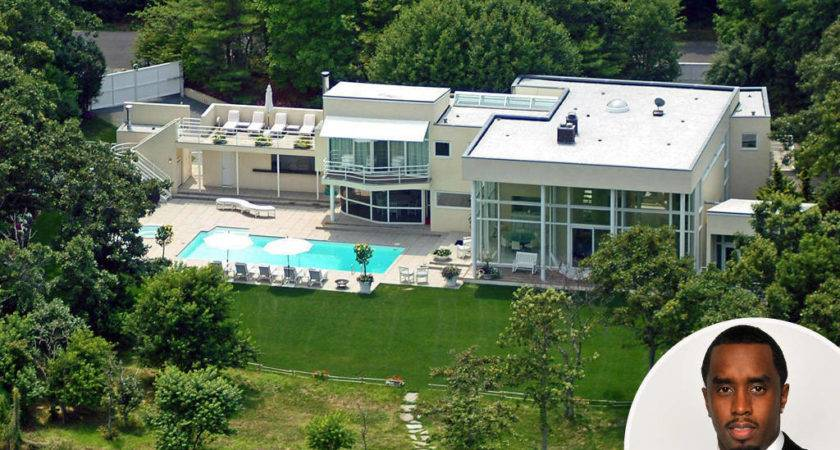 Sean Diddy Combs Celebrity Homes Hamptons