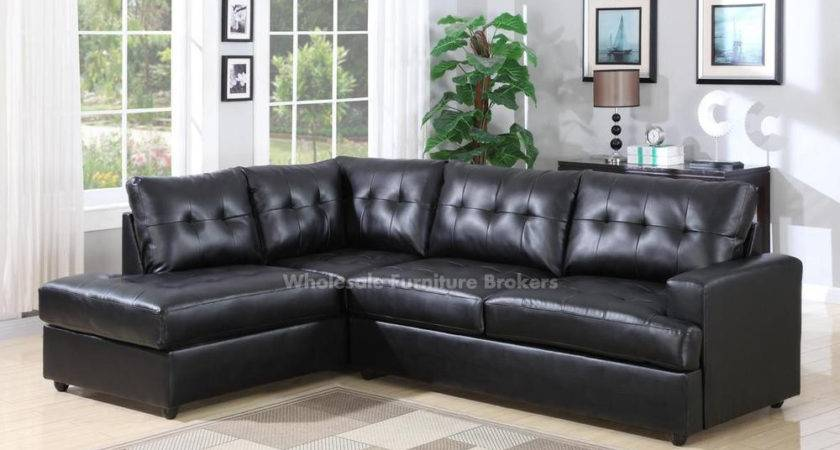 Sectional Sofa Design Black Leather Sofas