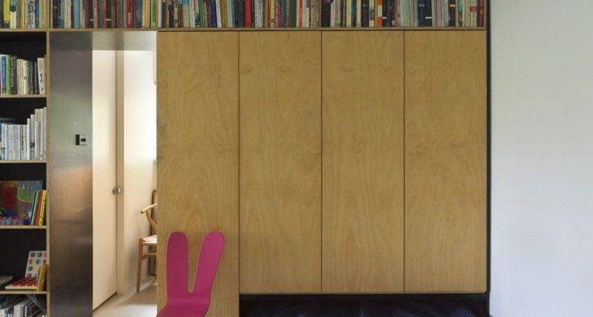 Self Sufficient Apartment Lets Hide Bed Drawer