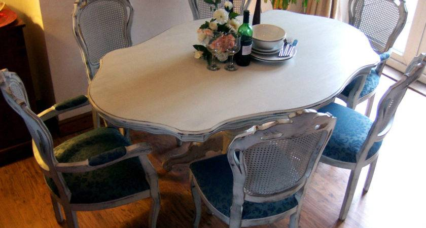 Shabby Chic Dining Restored Adored