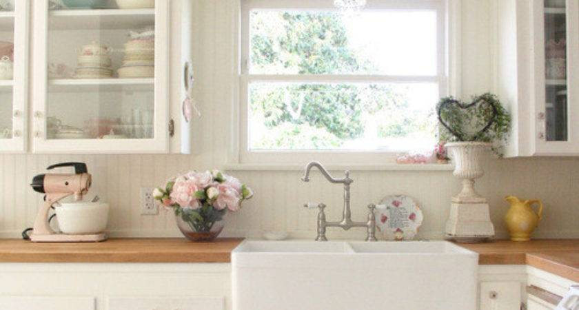 Shabby Chic Farmhouse Sink Home Decorating Trends Homedit