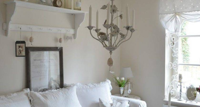 Shabby Chic French Country Living Room Decor