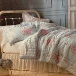 Shabby Chic Queen Comforter Set Pink Roses Bedding