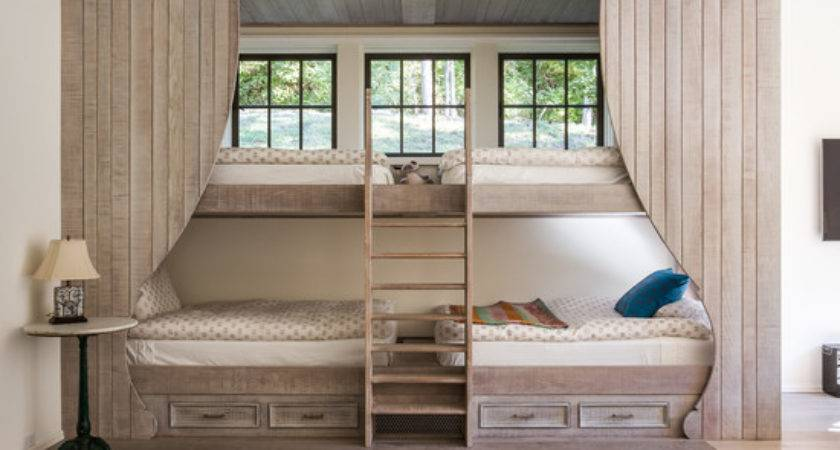 Shabby Chic Style Twin Bunk Beds Home Design Photos