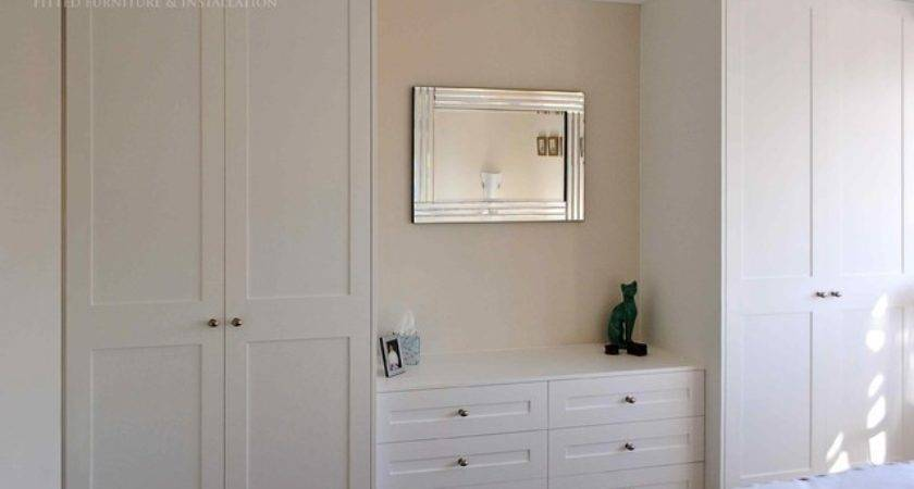 Shaker Style Fitted Wardrobes Chest Drawers