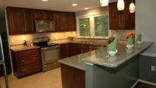 Shaped Kitchen Remodel Contemporary
