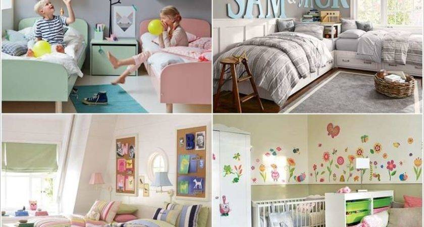 Shared Kids Bedroom Storage Organization Ideas