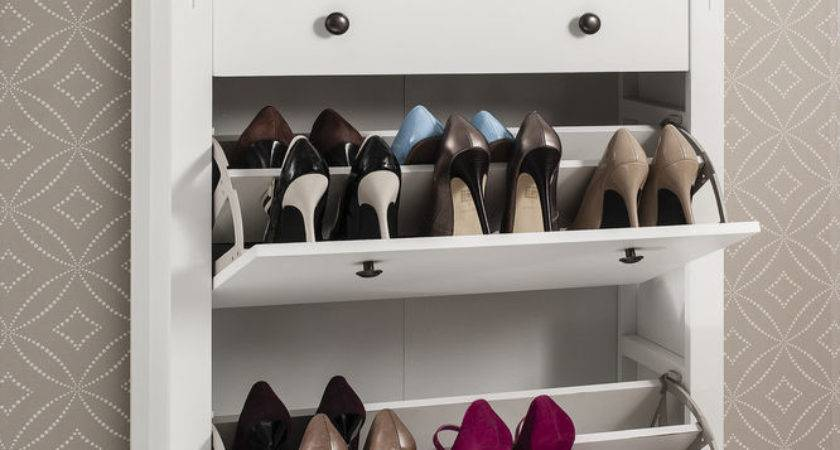 Shoe Storage Cabinet Deluxe Drawer Cotswold