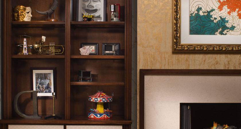 Showcase Designs Living Room Wall Mounted Home Combo