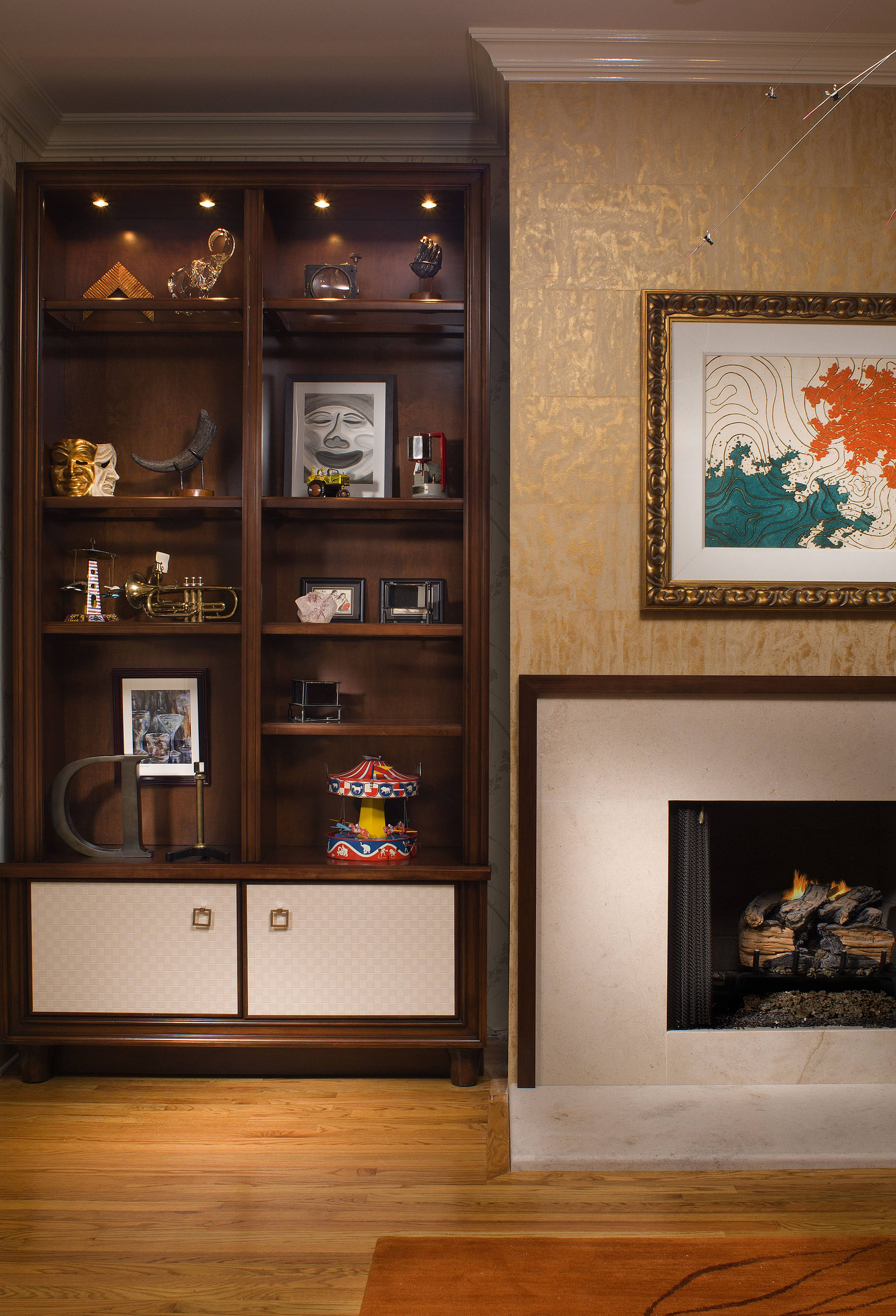 Showcase Designs Living Room Wall Mounted Home Combo ...