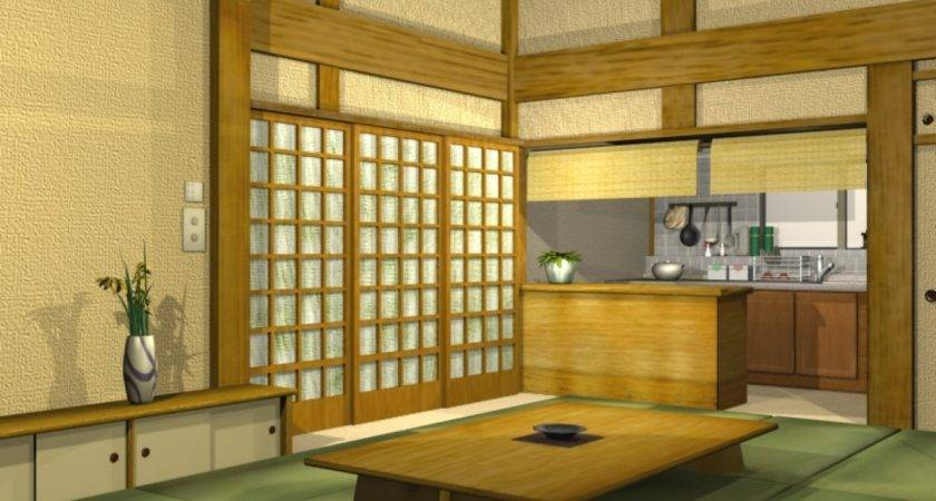 Silver Dining Table Traditional Japanese Kitchen