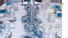 Silver White Table Decorations