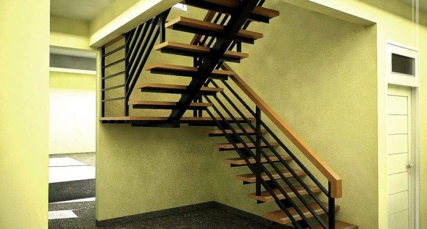 Simple Modern Stairs Under All