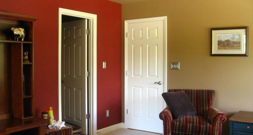 Simple Room Painting Ideas Two Colors Home Combo
